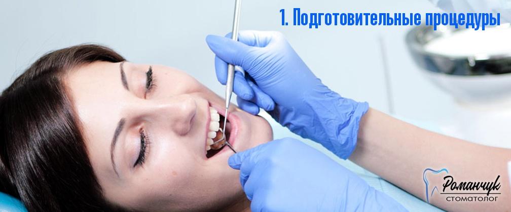 кабинетное отбеливание зубов СПб
